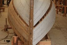 Wooden canoe, wooden boats / The beauty of wooden boats and the wooden Canadian canoe.  We are boatbuilders so we built our own red cedarstrip canoe.