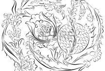 Çini patterns