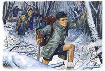 Emmanuel Beaudesson / Emmanuel Beaudesson, un autre grand illustrateur du scoutisme.
