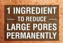 reduce large pore