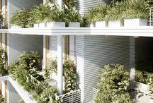 Green facades