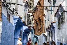 street it blue