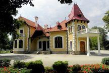 Mielec - Pałacyk Oborskich / Pałacyk Oborskich w Mielcu wybudowany na początku XX wieku, na miejscu XIX wiecznego dworu Suchorzewskich. Obecnie siedziba Muzeum Regionalnego.