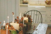 fall table, auttum