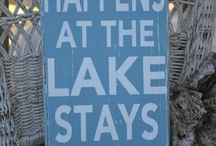 Lake house decor / by Penni Elliot
