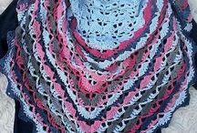 Bluebell rose sjaal