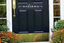 Amazing Front Doors / Spice up your homes curb appeal with an amazing front door!