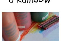 Rainbows / Rainbow themes for early years settings.