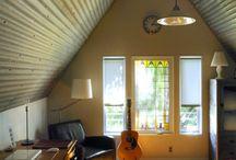 Corrugated decor