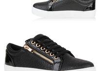 Damen Zipper Snake Sneakers
