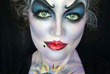 Crazy cool character makeup's