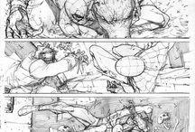 Random comic sketches