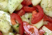 Recipes - Salads and Salad Dressings