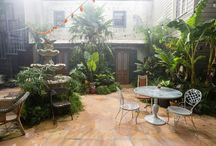 ncis new orleans courtyard
