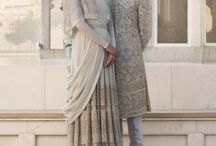Sabyasachi Spring Summer Bridal Couture 2017 / Sabyasachi's newest Spring Summer collection is everything that a bride would dream and aspire of. At Sabyasachi 'traditional is the new cool'. Delicate florals, summer-ready sorbet colours with an occasional dose of vibrant hues, classy organza saris and a generous dose of traditional lehengas. If you cannot come to India to shop this dream collection, get in touch with us, we're Bombay-based personal shoppers and style consultants for Indian/NRI weddings. Website www.bridelan.com
