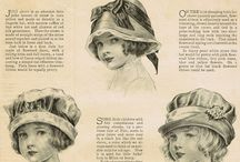 Doll hats and bonnets