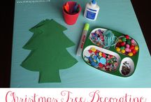 Holiday Crafts and Activities For Kids / Fun and festive holiday crafts, diy and activities for the kids.