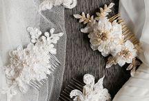 Hair accesories (bridal) ~ handmade