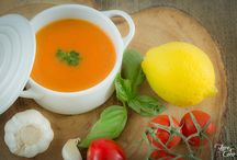 SOUPS AND SALADS / A collection of heathy, delicious and fresh recipes for everyone to enjoy!