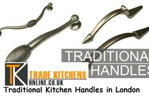 Traditional Kitchen Handles in London / It is worth denying the fact that the traditional kitchen handles in London are looked upon as most well-accepted choice. The trimmings and carvings featuring in these handles demand true focus.