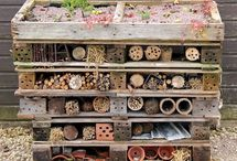 Insektenhotel bienenhotel