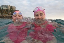 Bold & Beautiful  / The Bold & Beautiful is a group that swims every day at 7 am from Manly Surf Club to Shelly Beach and back. Photos are from the daily B&B blog