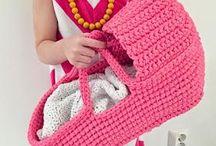juguetes en crochet