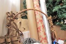 gift wrap | packaging / by Amy Elizabeth