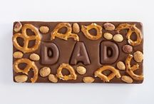 Dads & Grads Chocolate Bars / Custom chocolate bars perfect for Father's Day and Graduation.
