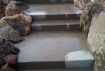 steps and platforms