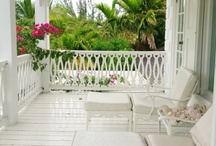 Porches & Sunrooms / I love my sunporch, but all porches call to me...especially if they have wicker.  / by Cyndee Randall