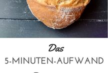 Brot backen.