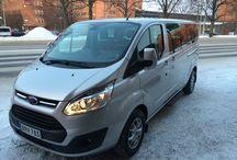 Minibussit / Minibussilla saa kuljettaa 1+8 henkilöä henkilöauton ajokortilla.
