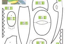 123dzieciszyją / proste wykroje i szblony oraz tutoriale linki przydatne do nauki szycia przez dzieci