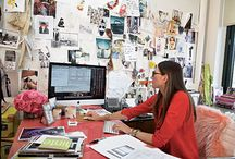 Home: Offices, Studios & Workspaces / Office and design spaces I hope my office will look like one day! / by Claire Dobson photography
