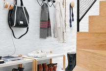 Entryway Accessories / Get your foyer or mud room in order with these six modern accessories.