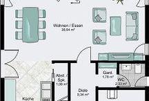 Haus Aufteilung