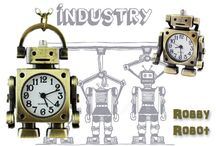 Robot / #robot #cheorasono #orologio #firenze