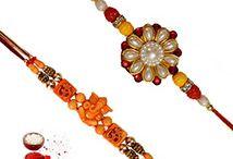 Rakhi Sets / We offer unique range of rakhi sets like set of 2 rakhis, set of 3 rakhis, set of 5 rakhis and more at http://rakhi.giftalove.com/rakhi-sets-854.html