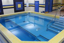 Hydrotherapy Pools / A hydrotherapy pool is different from a standard pool as it provides invaluable help for customers