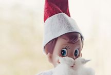 IDEAS FOR ELF ON THE SHELF / by Eve Self