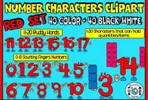 Clip Art / This resources showcases various clip art resources created by TeachInABox sellers
