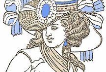 Millinery Illustrations