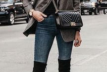 Winter Outfits / Winter outfits inspiration by fashionista for all the women around the world!