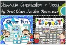 Classroom Organization & Decor Products / Here are classroom organization and decor products from First Class Teacher Resources