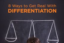 Differentiation / Great Ideas for Differentiation in the Classroom - Third Grade, Fourth Grade, Fifth Grade - Differentiating for Gifted and Talented Children