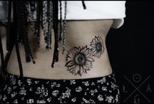 Black and white tattoos / Just black tattoo