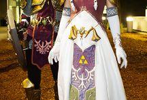 Link and Zelda / Benjamin wants to be Link for Halloween