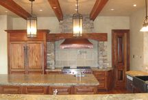 Wrought Iron Kitchen Lighting / Wrought Iron Lighting adds the perfect touch to kitchen decor creating a chic, yet elegant ambience.