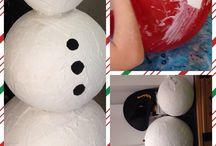 Weihnachten & Neujahr / Tolle Ideen für Weihnachten und die Weihnachtszeit, rund um den Ballon.